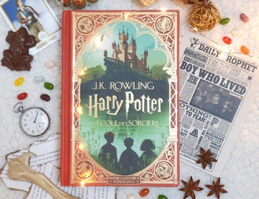Harry Potter à l'école des sorciers - J. K. Rowling (aux éditions Gallimard Jeunesse)