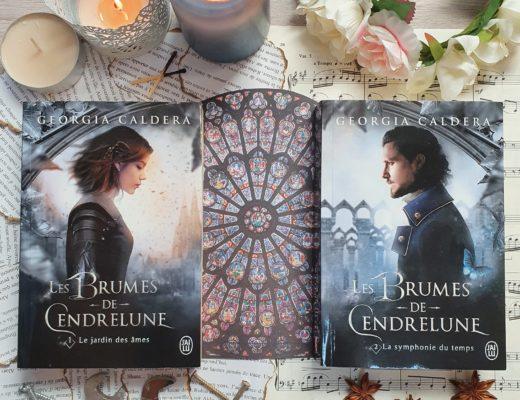 Les Brumes de Cendrelune - Georgia Caldera (aux éditions J'ai Lu)
