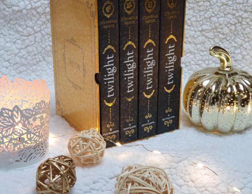 Twilight (Saga) - Stephenie Meyer (aux éditions Hachette Romans)
