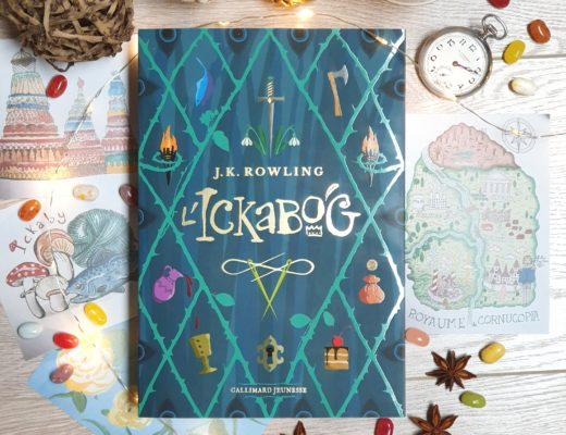 L'Ickabog - J. K. Rowling (roman aux éditions Gallimard Jeunesse)