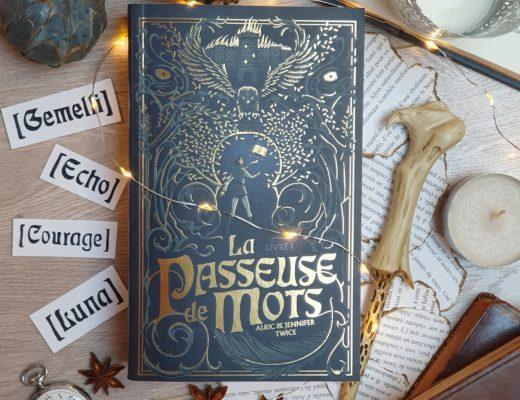 La Passeuse de Mots - A. J. Twice, aux éditions Hachette