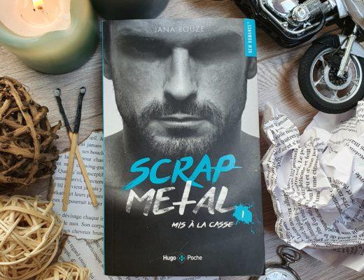 """""""Scrap Metal"""" (Tome 1) - Jana Rouze, aux éditions Hugo New Romances"""