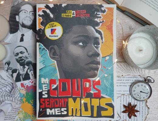 """""""Mes coups seront mes mots"""" de Yusef Salaam et Ibi Zoboi, aux éditions Gallimard Jeunesse"""