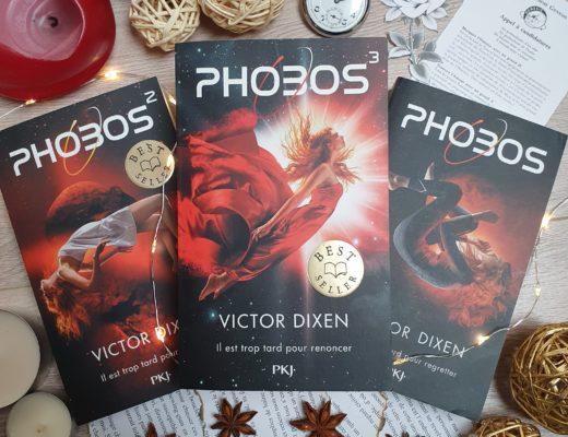 Phobos (Tome 2 & 3) de Victor Dixen au éditions PKJ