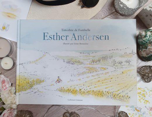 """""""Esther Andersen"""" de Thimothée de Fombelle, aux éditions Gallimard Jeunesse"""