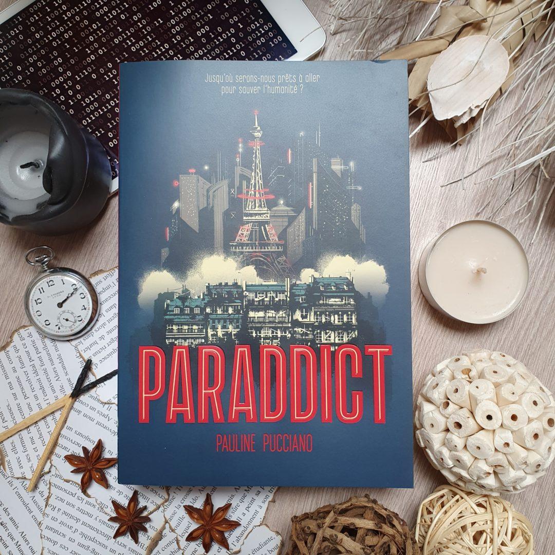 Paraddict de Pauline Pucciano aux éditions Gallimard Jeunesse