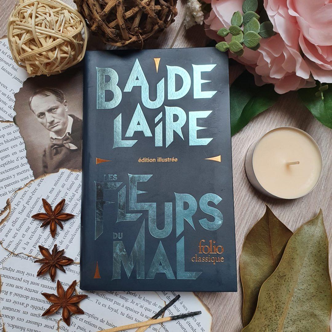 """""""Les Fleurs du Mal"""" de Charles Baudelaire aux éditions Folio Classique"""